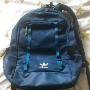 Teal Blue Adidas Backpack